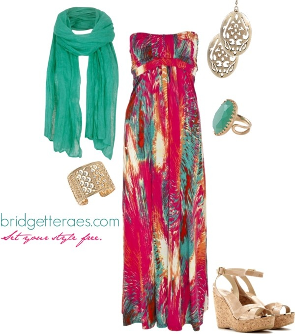 """""""Vacation Look #1"""" by bridgetteraes on Polyvore"""