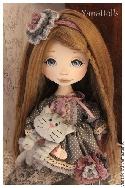 Коллекционные куклы ручной работы. Ярмарка Мастеров - ручная работа Ирочка. Handmade.