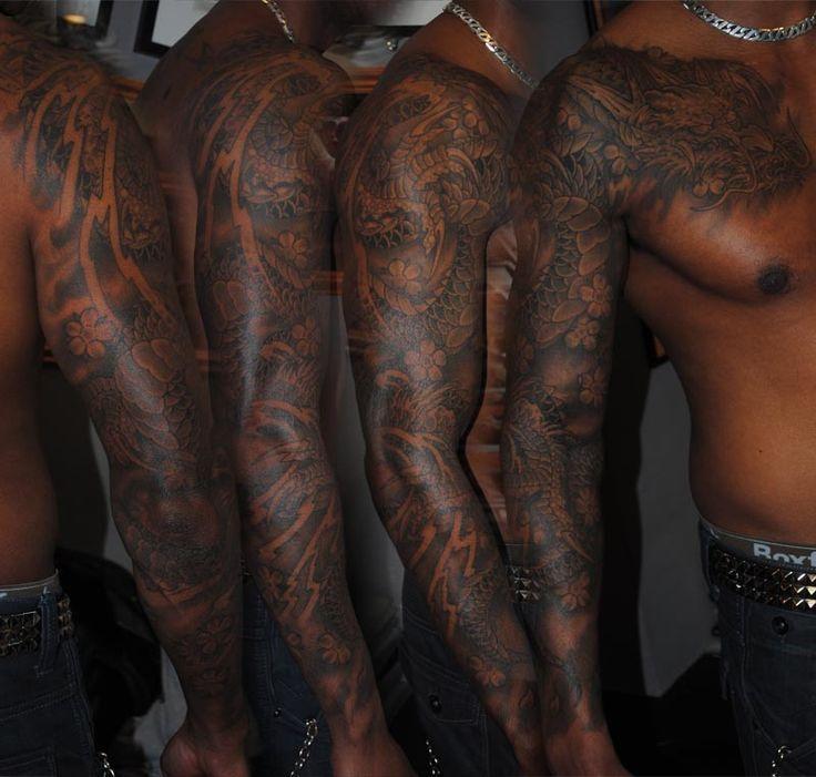 Pin On Sleeve Tattoo
