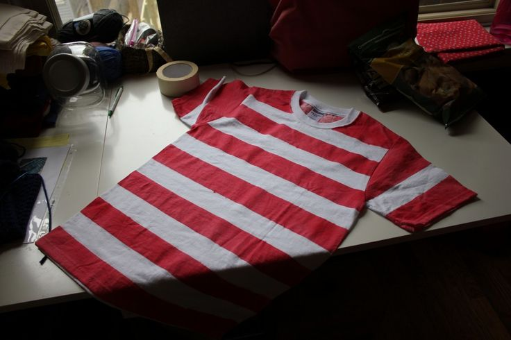 Waldo Shirt Homemade                                                                                                                                                                                 More