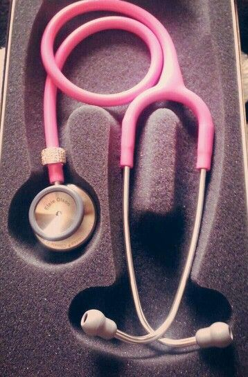 My new pink littmann stethoscope
