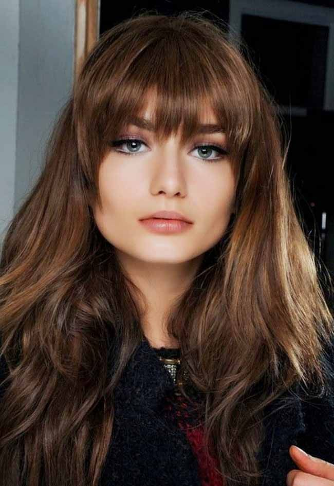 Top 10 Long Hairstyles For Women and trendy hair color