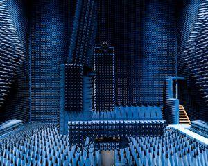 Radio Anechoic Chamber, Denmark's Technical University