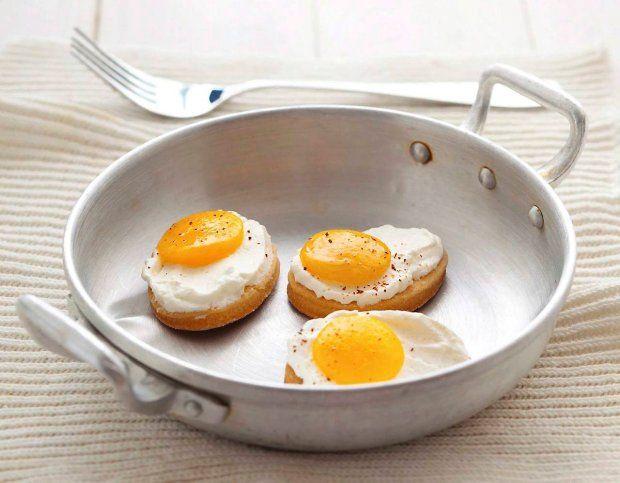 Ciastka - jajka sadzone
