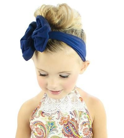 5 Inch Knotted Bow Headbands - Solid (Multiple) Colors