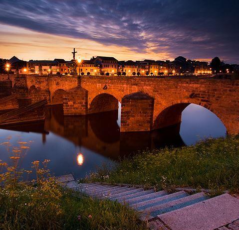 Old bridge in Písek (South Bohemia), Czechia