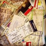 Cool things to do with ticket stubs