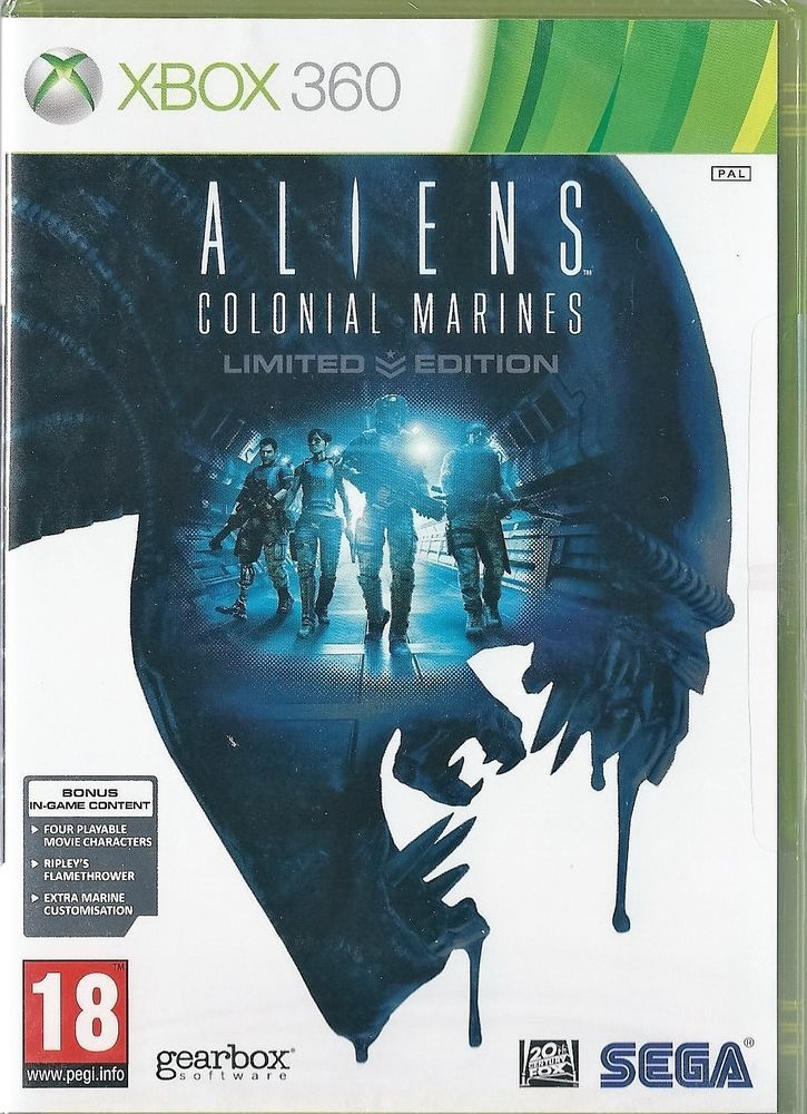 Aliens Colonial Marines Limited Edition Microsoft Xbox 360 New