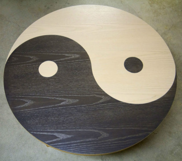 22 best ideas about yin yang table on pinterest coffee for Table yin yang