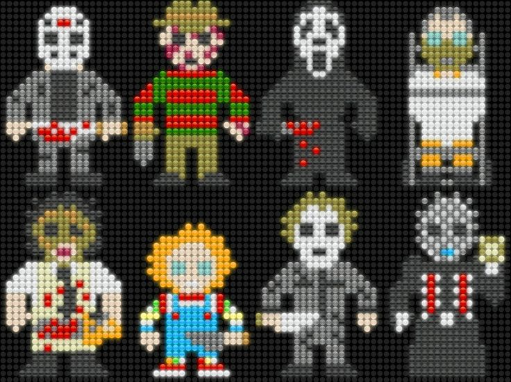 Lair of the Dork Horde: Lite Brite Brutes - Horror Movie Heavy Hitters!