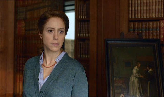 Jodhi May as Blanche Spence in The Scapegoat (2012), ITV, based on the Daphne du Maurier novel