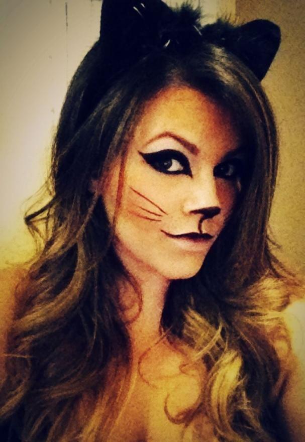 Cat Costume Makeup