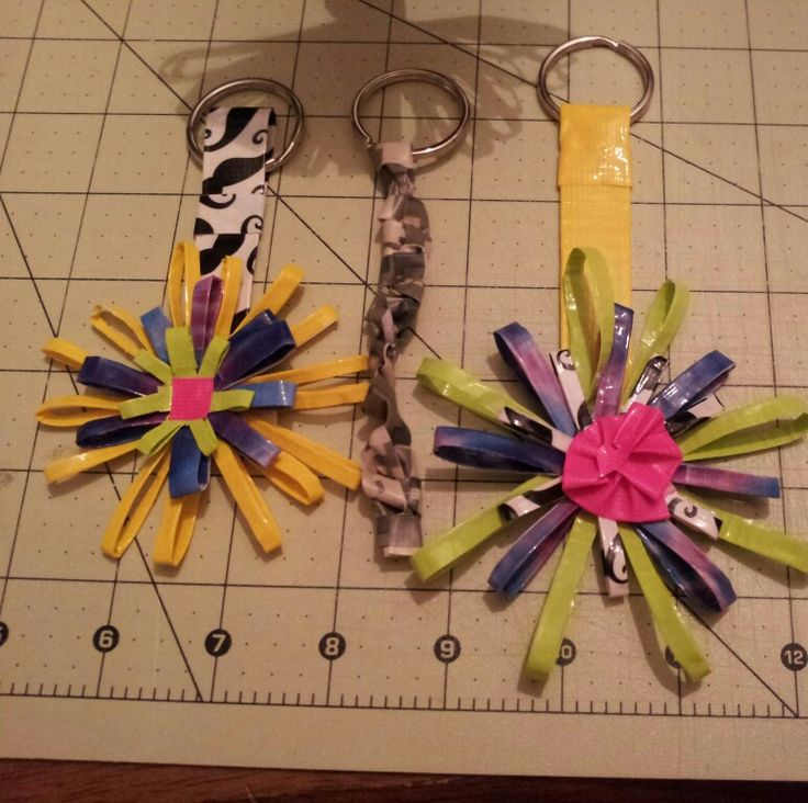 Key chains duct tape