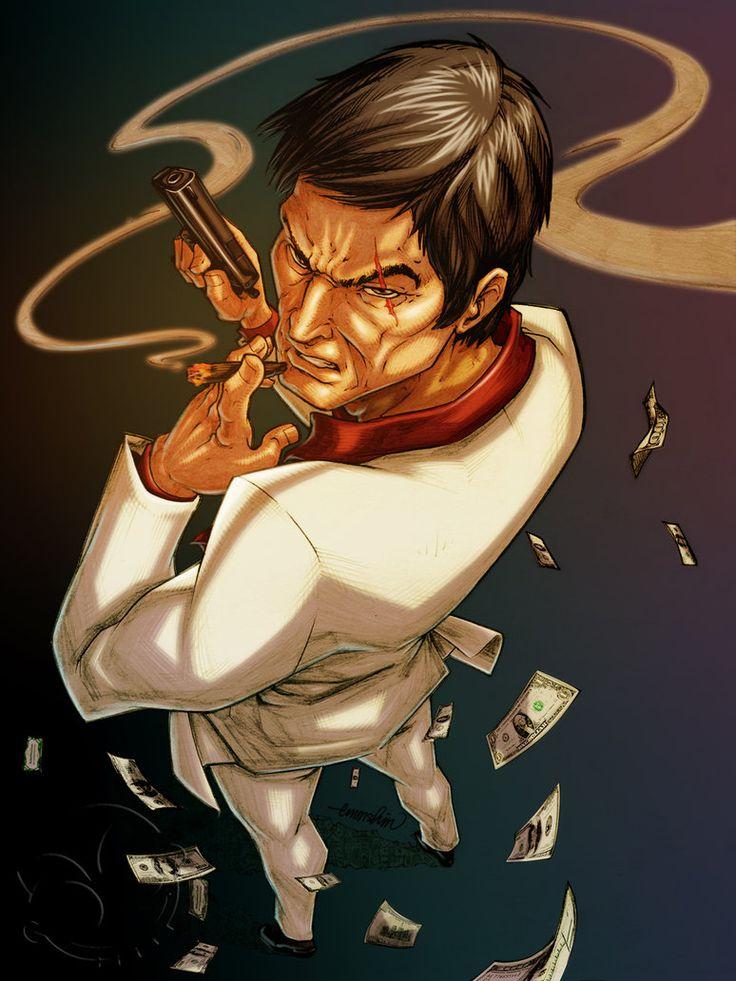 Scarface by emmshin on deviantart into my soul art - Scarface cartoon wallpaper ...