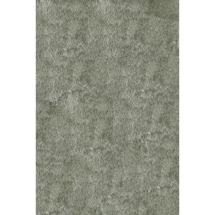 Momeni Luster Shag Sage Hand Tufted Shag Rug (5u0027 X 7u0027)
