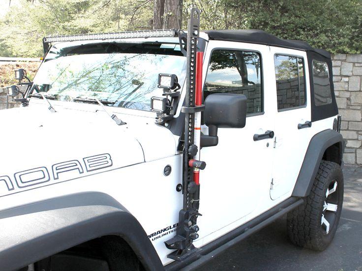 how to use hi lift jack on jeep