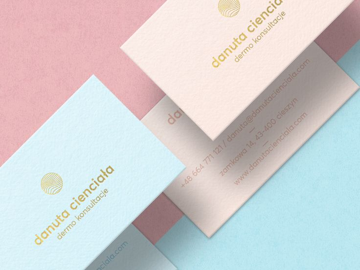 Dermo Consultancy - Business Cards by Milosz Klimek