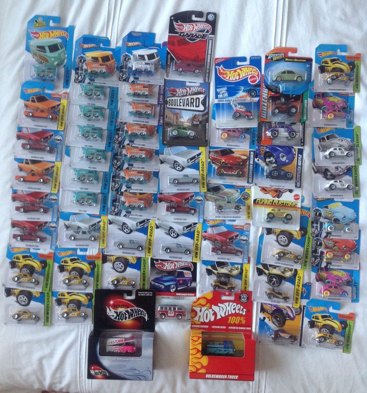 Hot Wheels VW collection.