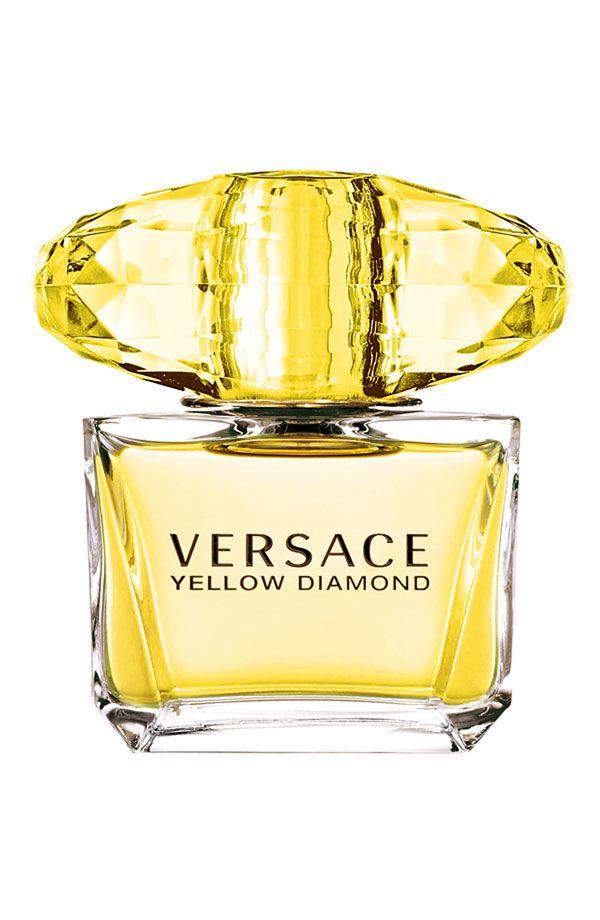 MODELO DE MUJER - PERFUMES Shine bright like a Yellow Diamond