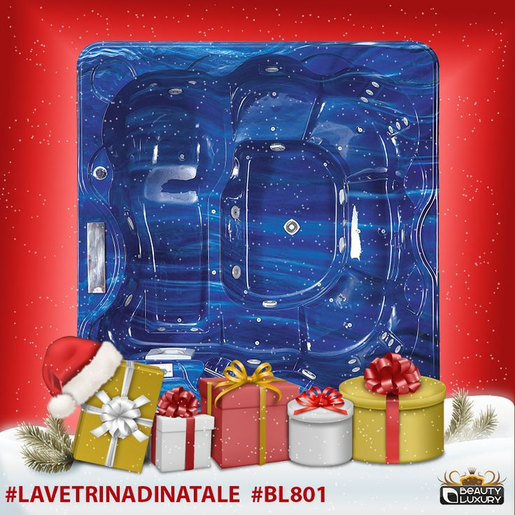 Undecided on Christmas gift? Until December 24 buys hot tub spa BL-801 with 30% discount! #LaVetrinadiNatale #BL801 http://www.beauty-luxury.com/en/hot-tub-spa-bl801-p-27.html