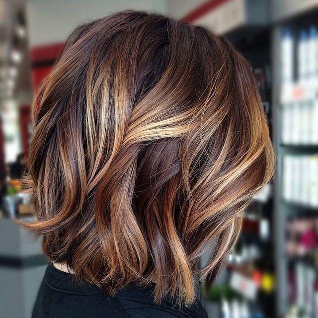Gorgeous Bob Hair Styles Gorgeous Hair Color Brown Blonde Hair