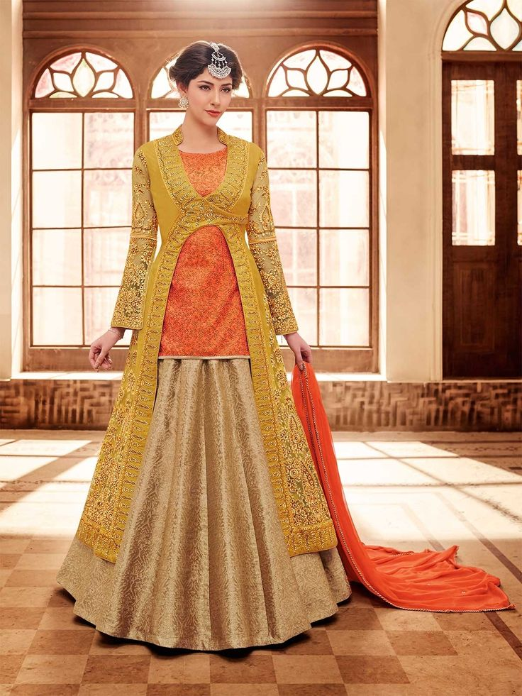 Mustard color floor length bridal anarkali suit online shopping at zaraafab with discounted price. Our collection includes indian wedding outfits ranging from salwar suit to elegant bridal wedding suits to party wear salwar suit. #mustardanarkali #bridalanarkalisuit #salwarkameez #weddingsalwar #semistitchedsuit#anarkalisalwarkameez #plussizedress #indianclothing #weddingdresses #weddingsalwarsuit #onlineshopping