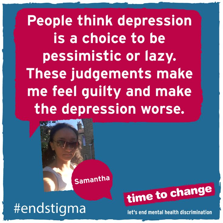 Samantha blogs about her experience of depression, and how other people's reactions have affected her self-confidence. #endstigma