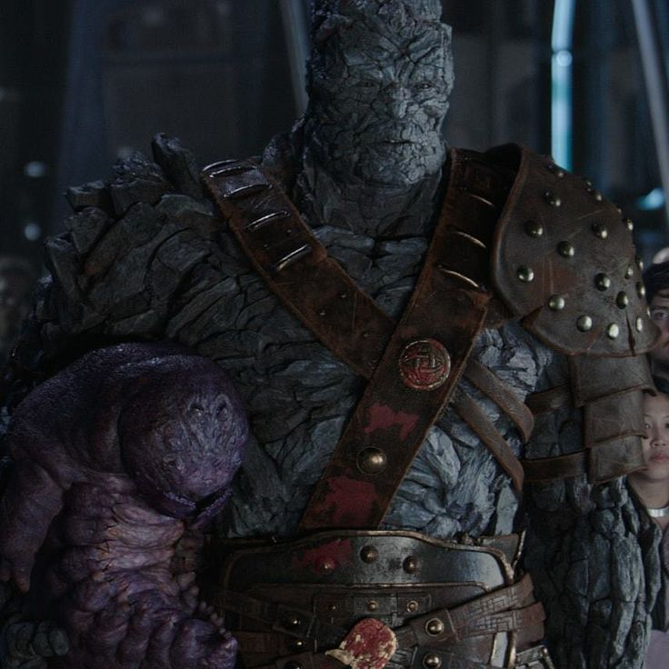 "3 Likes, 1 Comments - Marvel Cinematic Universe (@marvelcinematicuni) on Instagram: ""#ThorRagnarok Korg and Miek. Name a more iconic duo in the MCU, I dare you!"""