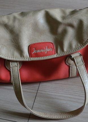 Kup mój przedmiot na #vintedpl http://www.vinted.pl/damskie-torby/torby-na-ramie/9996800-pomaranczowo-bezowa-torebka-mala