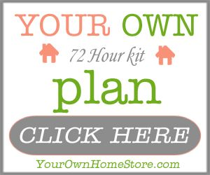 Create Your Own 72 Hour Kit Plan with this e-book course from Your Own Home Store | PreparednessMama