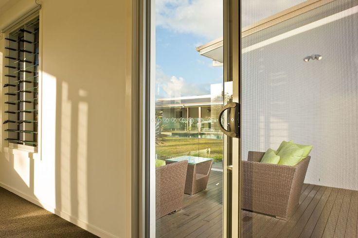 Uninterrupted views with Crimsafe® - keeping out intruders and other unwanted guests