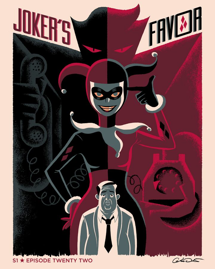 """BTAS: Joker's Favor"" by George Caltsoudas"
