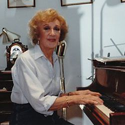 Marian McPartland, great jazz pianist age 93, still has a radio show on mpr.