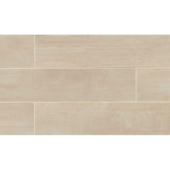 Bedrosians Bayou Country Tile Blanc 8X24