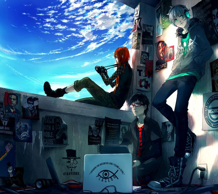 Fisheye Placebo: Cypherpunks by yuumei.deviantart.com on @deviantART (Fisheye Placebo)