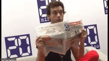 ANIMATED GIF Mika's adorable! 20 Minutos