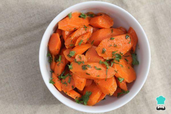 Receita de Cenoura refogada simples - Fácil