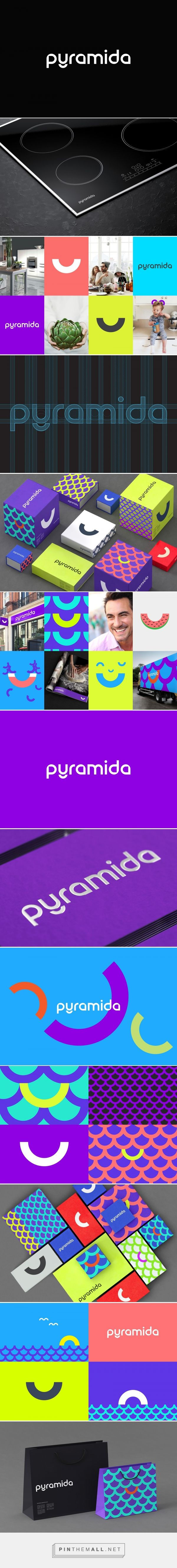 Pyramida kitchen appliances packaging design by Reynolds and Reyner - http://www.packagingoftheworld.com/2017/01/pyramida.html
