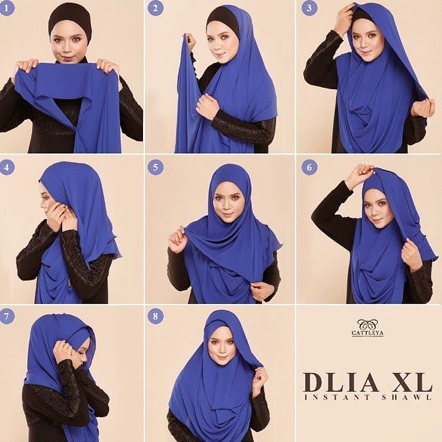 Chest Coverage Hijab Tutorial | My Sweet Escape