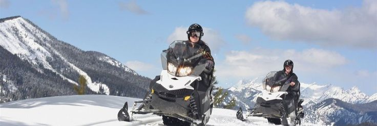 Snowmobile Tours - Starlight tour starts at 4 p.m. (Conflict with tree lighting ceremony)