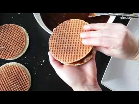 Видео-рецепт: Как приготовить голландские вафли в вафельнице - YouTube