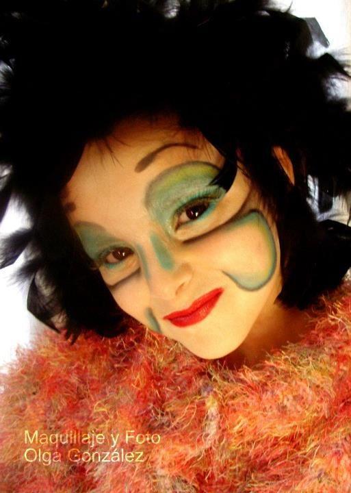 Maquillaje basado en Cirque du Soleil