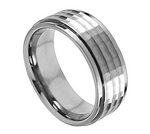159 best Tungsten Carbide Wedding ring Set images on Pinterest