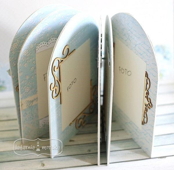 nowa baza albumowa w kształcie okienka z ornamentami http://www.hurt.scrap.com.pl/zestaw-ornamentow-3-slubna-kolekcja.html