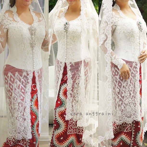 #kebaya #white #wedding #batik #verakebaya  - verakebaya @ Instagram