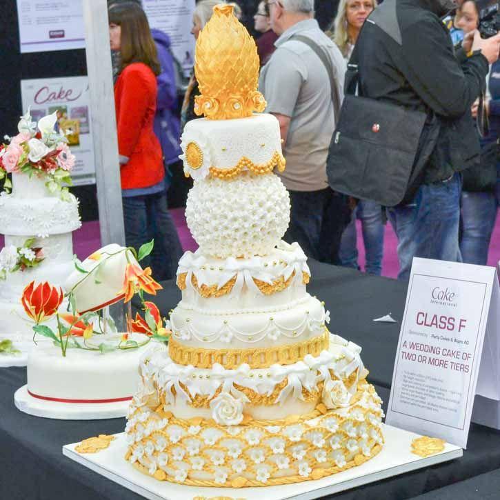 38 Best Cake International 2013 Wedding Cakes Images On