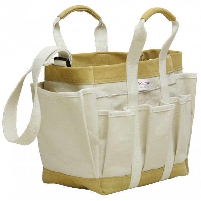 Original Ruffian Canvas Tool Bag with 6 Inch Pockets and Shoulder Strap - Ruffian Specialties 20-04-0006