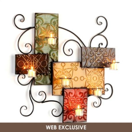 Charmant Monterrey Candle Holder Living Room Wall Decorliving