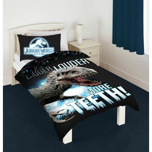 INDI Buy Jurassic World Glowing Duvet Cover Set - Single at Argos.co.uk - Your Online Shop for Children's bedding sets.