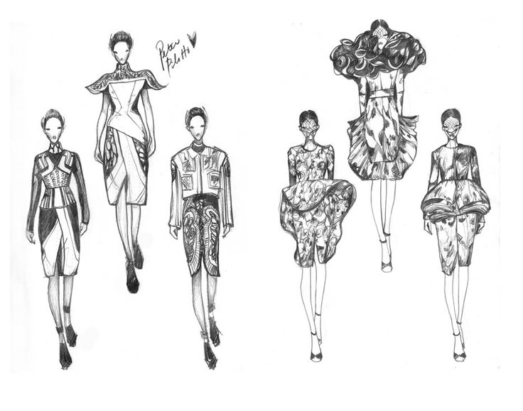 Fashion Illustrations by Vikki Yau